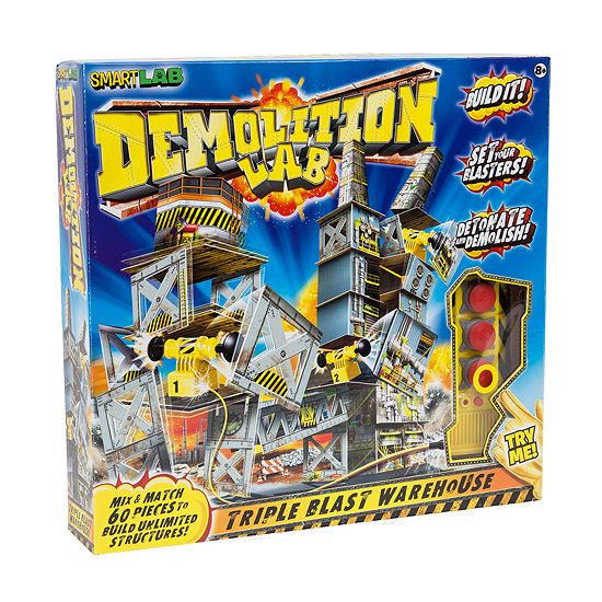 International Playthings Demolition Lab: Triple Blast Warehouse