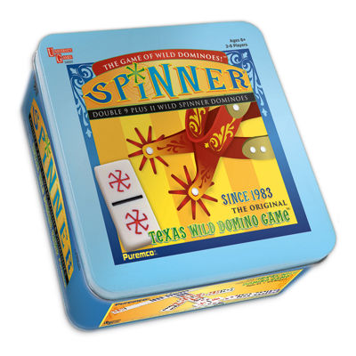 Puremco Spinner Dominoes Game