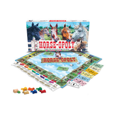 Late For The Sky Horse-opoly Game