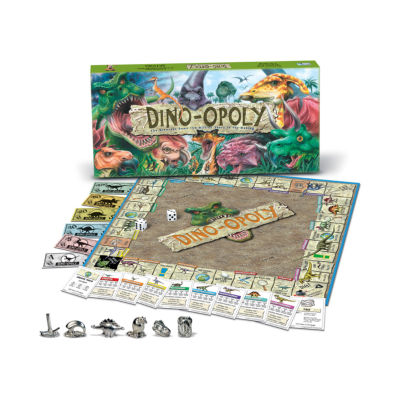 Late For The Sky Dino-opoly Game