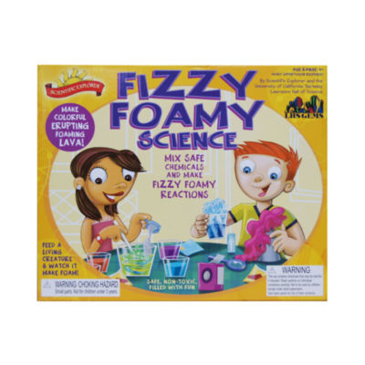 Scientific Explorer Fizzy Foamy Science Kit