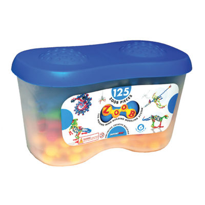 Infinitoy ZOOB Building Set - 125 Piece Tub