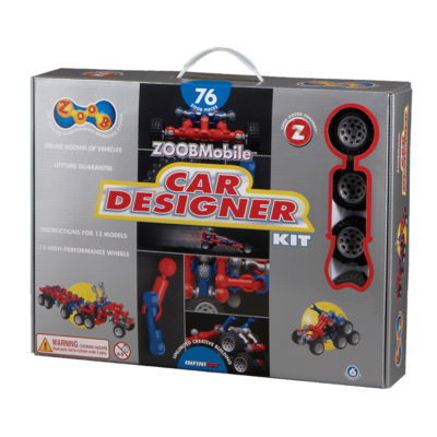Infinitoy ZOOBMobile Car Designer Kit