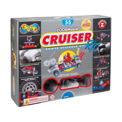 ZOOB ZOOBMobile R/C Cruiser Power Designer Kit