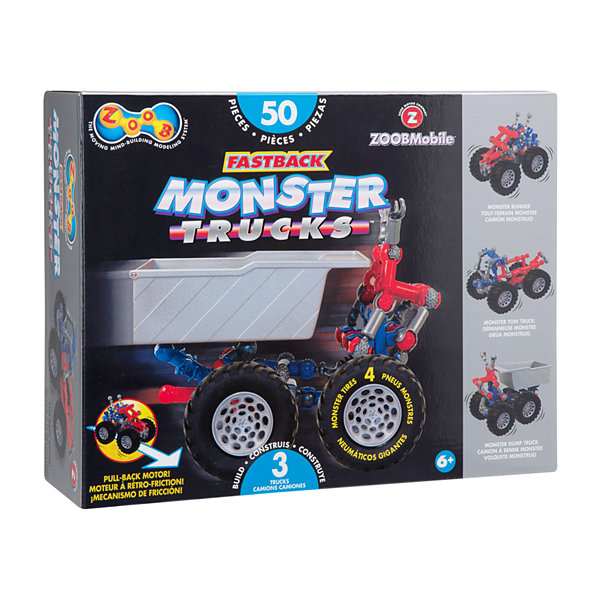 ZOOB ZOOBMobile Fastback Monster Trucks