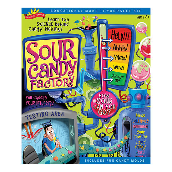 Scientific Explorer Sour Candy Factory