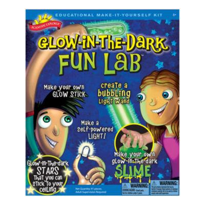 Scientific Explorer Glow-in-the-Dark Fun Lab