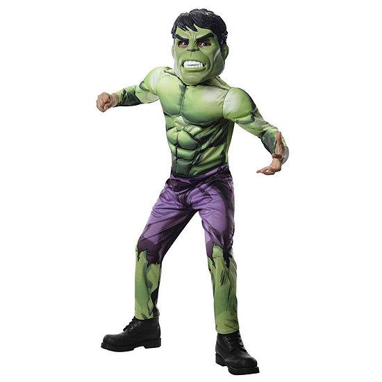 Avengers Assemble Deluxe Hulk Child Costume
