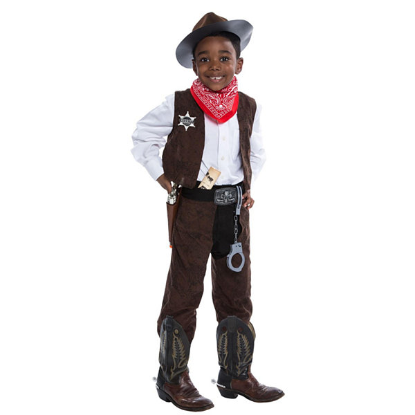 Deluxe Cowboy Costume Kit - Small (4)