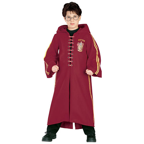 Buyseasons Harry Potter  Quidditch Robe Super Deluxe Child Costume