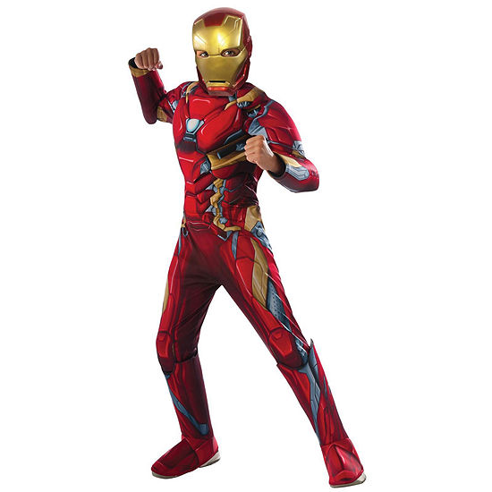 Captain America: Civil War Iron Man Deluxe MuscleChest Child Costume