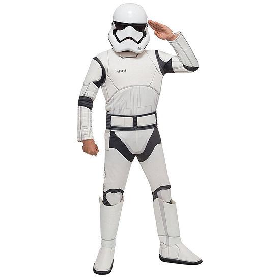 Star Wars: The Force Awakens - Boys Stormtrooper Deluxe Costume