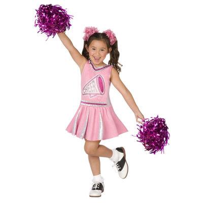 Pink Cheerleader Child Costume