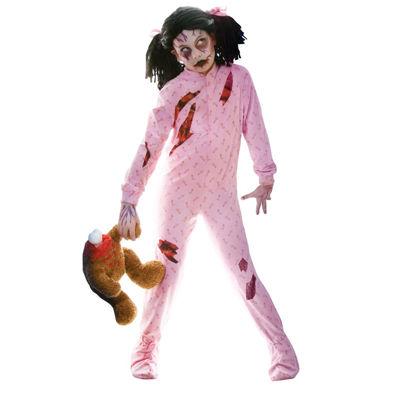 Zombie Girl Child Costume - Medium (8-10)