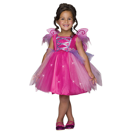 Girls Barbie Fairy Costume - Medium