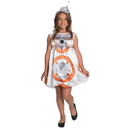 Star Wars: The Force Awakens – BB-8 Child Dress Costume, Large (12-14) , Multiple Colors