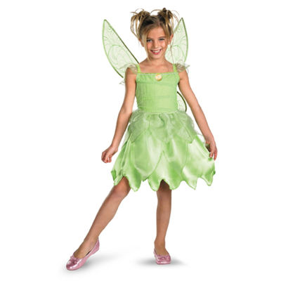 Tink and the Fairy Rescue - Tinker Bell Classic Toddler / Child Costume - Toddler (3T-4T)