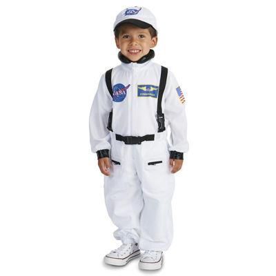 White Astronaut Toddler Costume - 2-4T