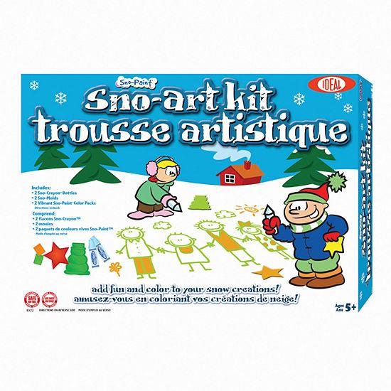 Ideal Cadaco Sno Paint Sno Art Kit
