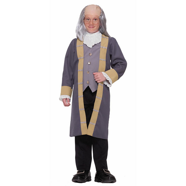 Buyseasons Ben Franklin Child Costume