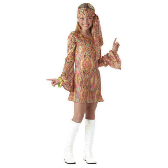 Buyseasons Disco Dolly Child Costume