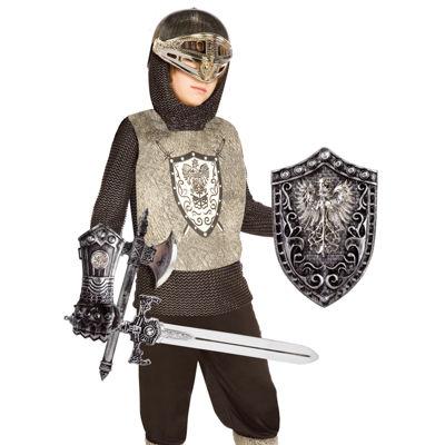 Knight (Silver) Child Costume Kit