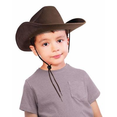 Buyseasons Brown Child Cowboy Hat