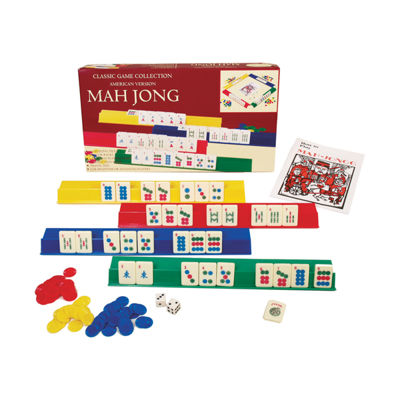 John N. Hansen Co. Mah Jongg - Plastic Game Set