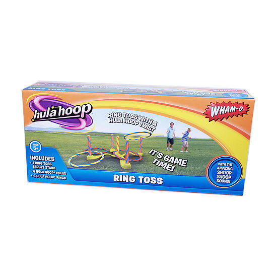 Wham O Hula Hoop Ring Toss Set