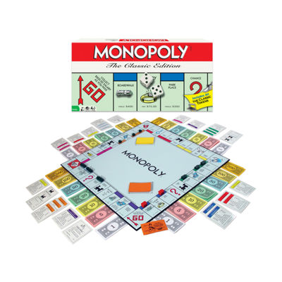 Winning Moves Monopoly - The Classic Edition