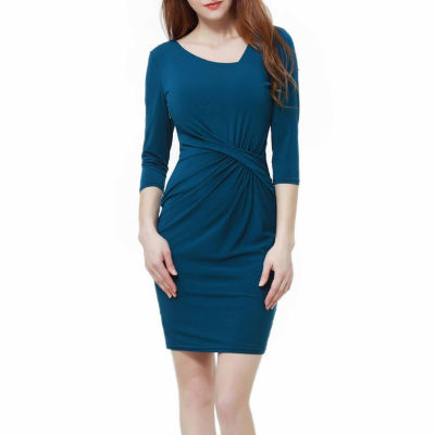 Phistic Ora Elbow Sleeve A-Line Dress