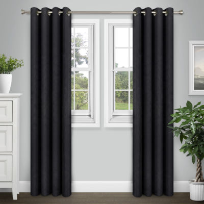 Journee Home Denver Energy Saving Blackout Curtain Panel Pair