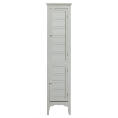 "63""H Glancy Linen Towel with Shutter Doors"