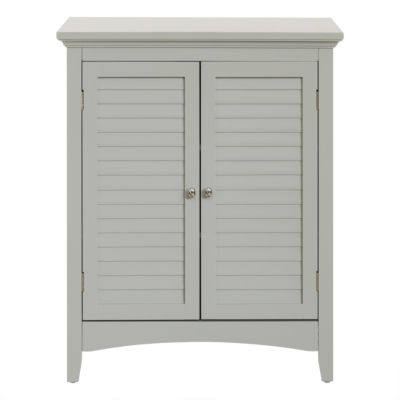 "32""H Glancy Double Door Floor Cabinet with two Shutter Doors"
