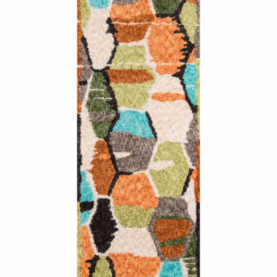 Novogratz By Momeni Tiles Rectangular Indoor Accent Rug