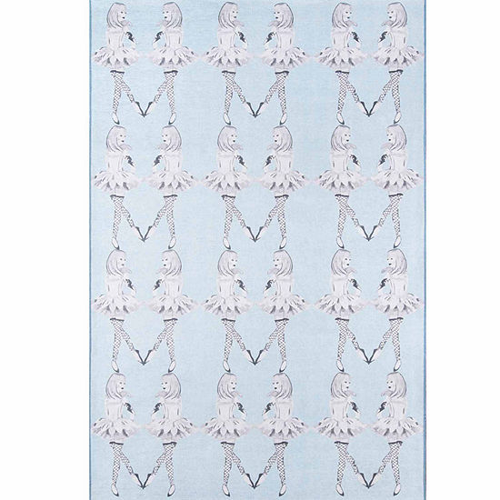 Novogratz By Momeni Dancing Girls Rectangular Indoor Rugs