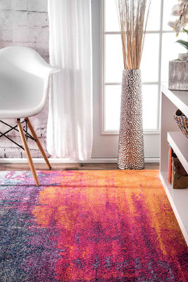 nuLoom Alayna Abstract Rug