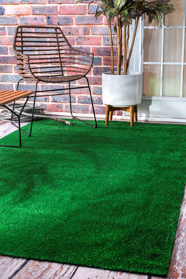 nuLoom Artificial Grass Rug