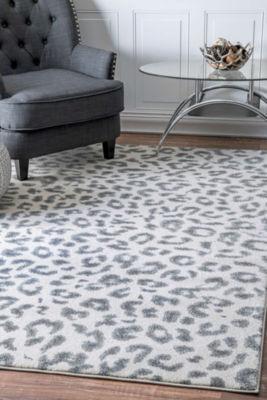 nuLoom Leopard Print Rug