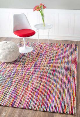 nuLoom Hand Tufted Stripes Tillery Rug