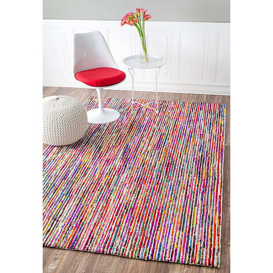Nuloom Hand Tufted Stripes Tillery Rug