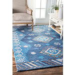 nuLoom Hand Tufted Tribal Diamond Valene Rug