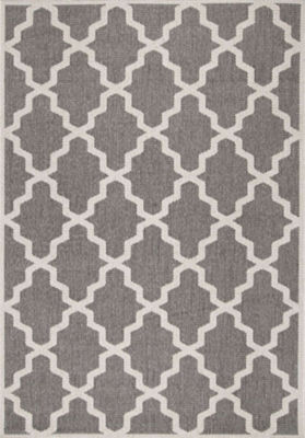 nuLoom Machine Made Gina Outdoor Moroccan Trellis Rug