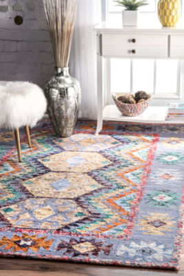 nuLoom Hand Tufted Tribal Paola Rug