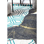 nuLoom Flat Woven Thomas Paul Collection Contemporary Rug