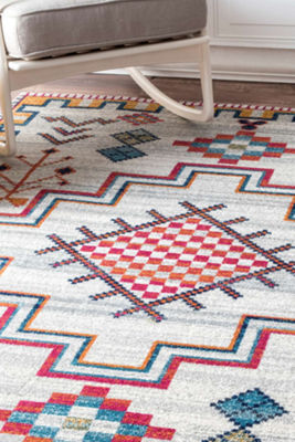 nuLoom Richelle Tribal Medallion Rug