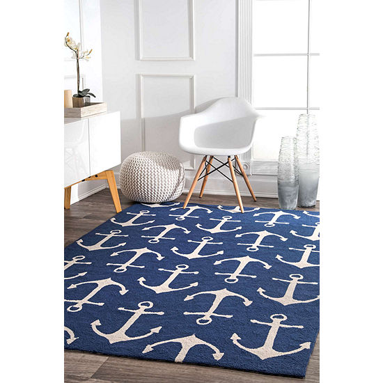 Nuloom Hand Hooked Despina Indoor Outdoor Rug Jcpenney
