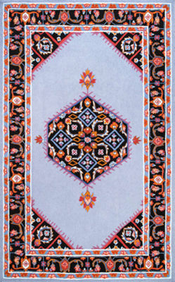 nuLoom Hand Hooked Sharell Floral Rug