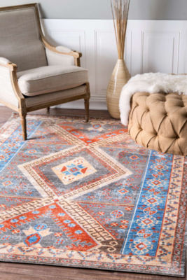 nuLoom Tribal Medallion Renda Rug