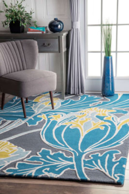 nuLoom Thomas Paul Hand Tufted Bloom Rug